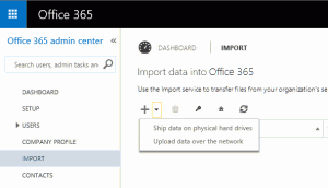 Office 365 Import Service