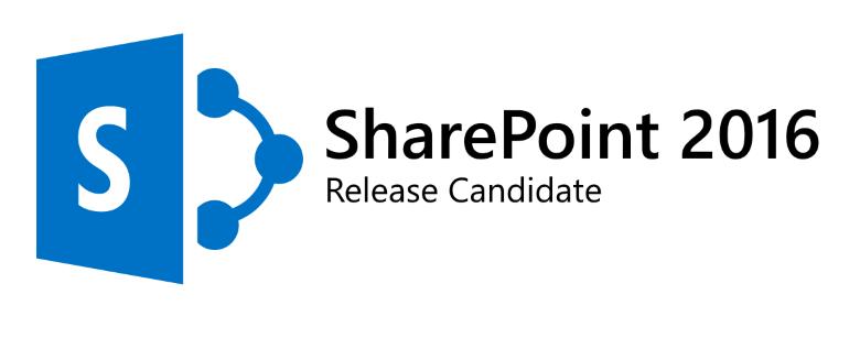 SharePoint Server 2016 RC