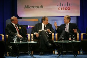 Microsoft and Cisco discuss on future vision