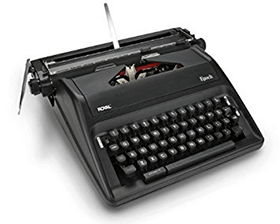 Think of your PC as a typewriter again.
