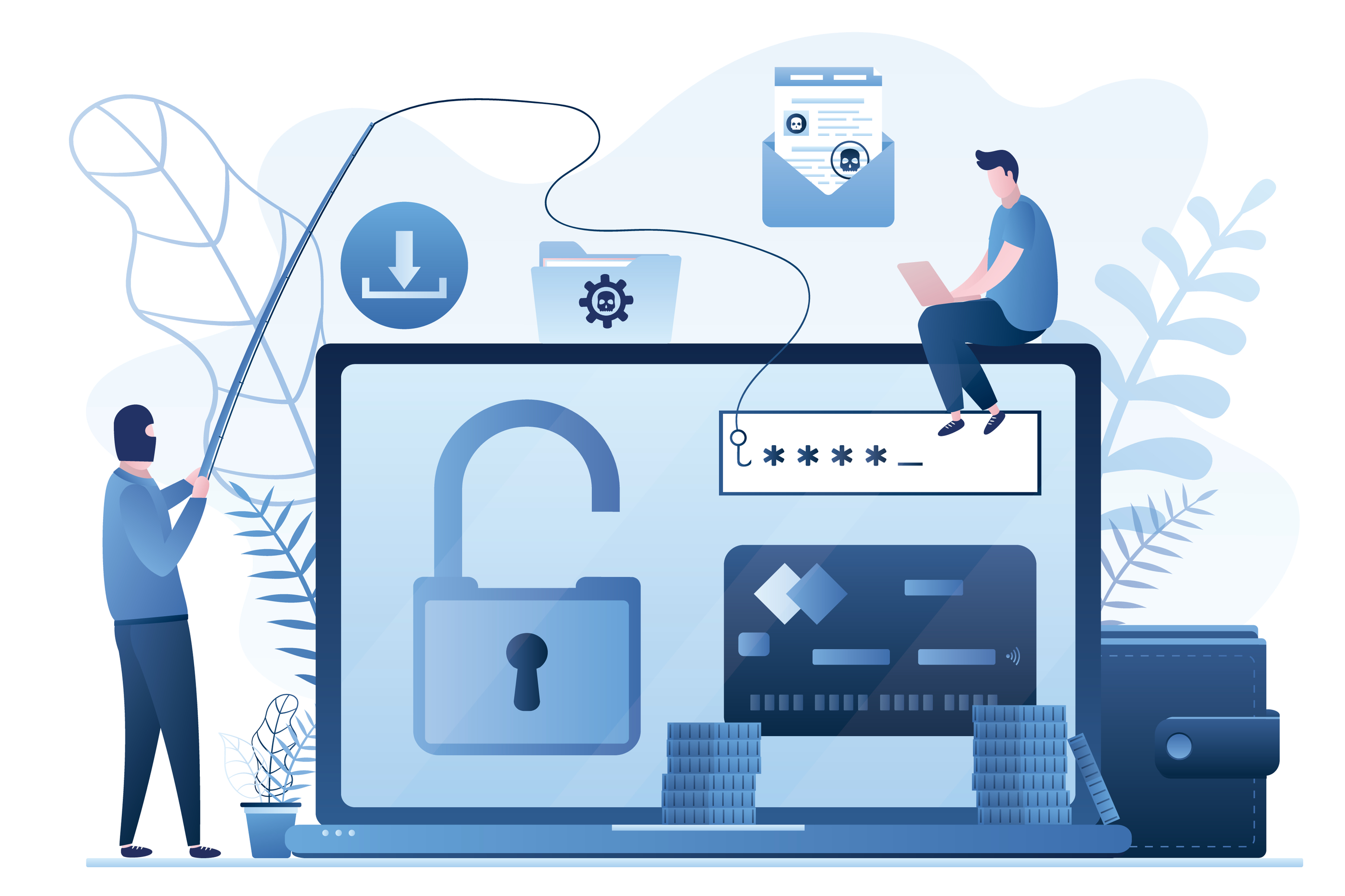 Cybersecurity Awareness Trends: Easy Phishing in Troubled Waters