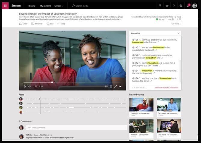 Microsoft Stream