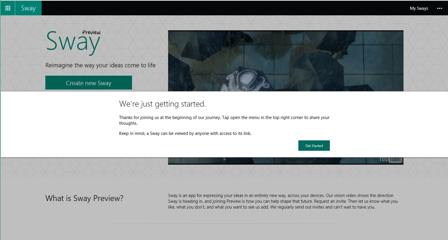 Cgnet Services Sway Preview: How To Make A Microsoft Sway Presentation  Microsoft Sway Cgnet Services